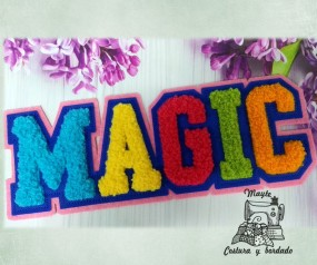 Magic,  parche puntada...