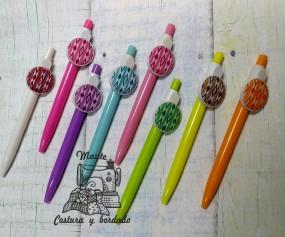 Bolígrafos tela de lenguas...