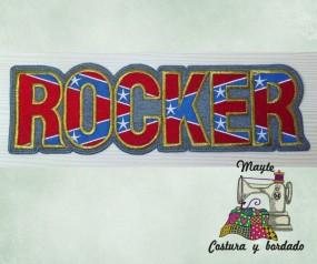 Parche Rocker bandera (Jeans)