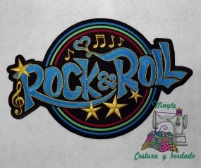 Parche Rock'n'roll estrellas