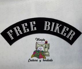 Parche Free Biker -1-