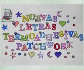 Letras y figuras Patchwork