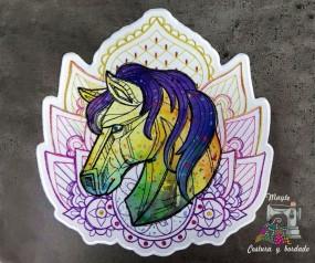 Parche Caballo multicolor