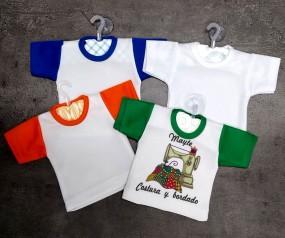 Mini-camiseta personalizada