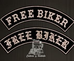 Parche free-biker reflectante