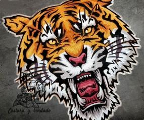 Parche gran Tigre