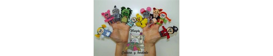 Marionetas | Marionetas de Dedo | Mayte Costura y Bordado